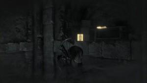 В гробнице Древняя цистерна, в углублении