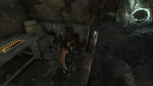 В гробнице Древняя Цистерна, напротив лестницы