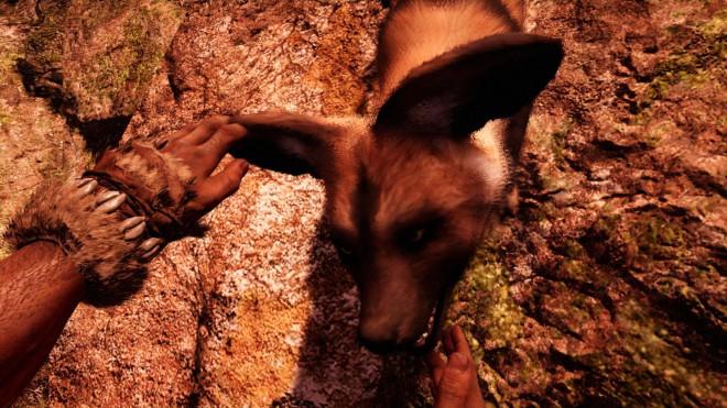 Far Cry Primal приручение Дикой Собаки