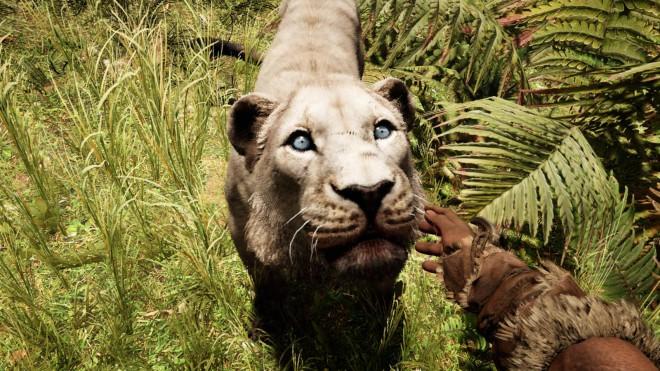Far Cry Primal приручение Пещерного льва
