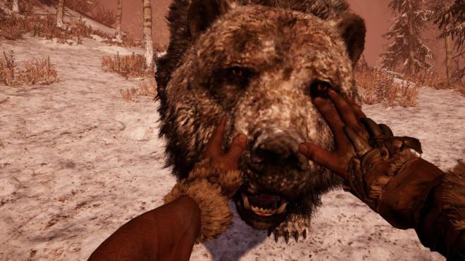 Far Cry Primal приручение пещерного медведя