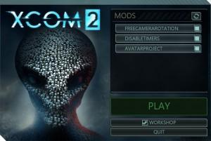 3. Запускаем Launcher игры XCOM 2.
