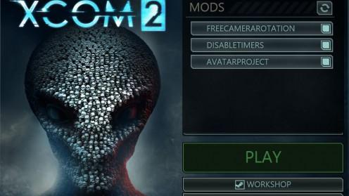 Установка модов через Launcher игры XCOM 2