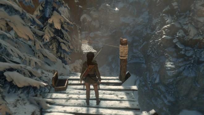 Rise of the Tomb Raider полное прохождение баба яга