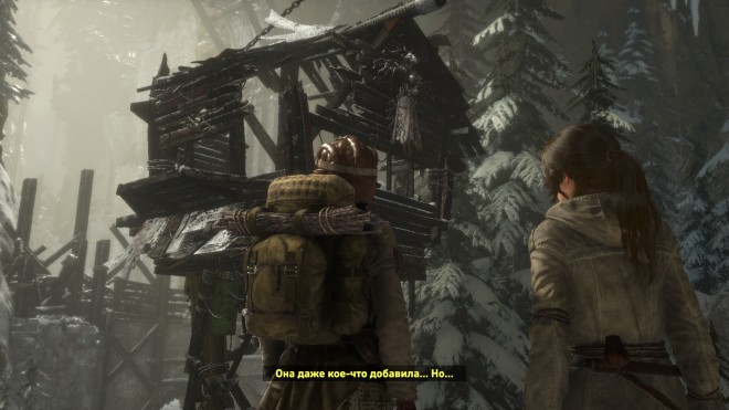 Rise of the Tomb Raider как пройти загадки Baba Yaga: The Temple of the Witch