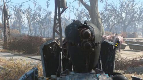 Голова альтрона создание закалённой брони Fallout 4 Automatron