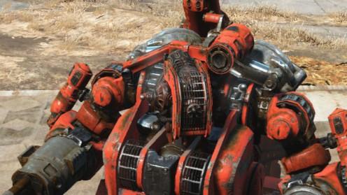 Кастомизация робота с лазерной головой для нападения Automatron