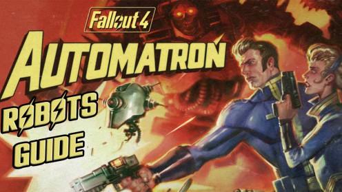 Роботы виды кастомизации в Fallout 4 Automatron