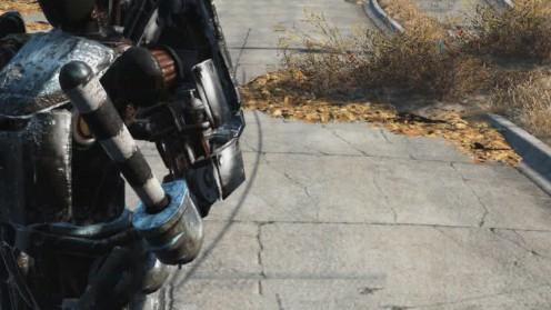 Fallout 4 Дубинка в Automatron
