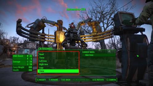 Fallout 4 создание роботов