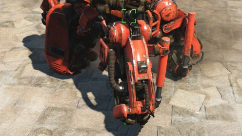 Гидравлические ноги караульного робота fallout 4
