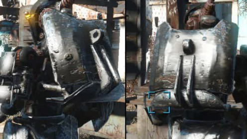 Зловещая спинная пластина броня робота Automatron