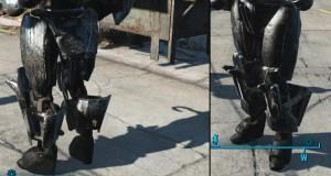 Ножные пластины для робота.
