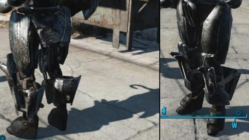 Зловещии ножные пластины робот в automatron