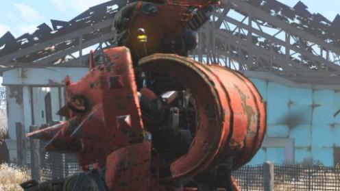 Задняя токсичная пластина робота Automatron