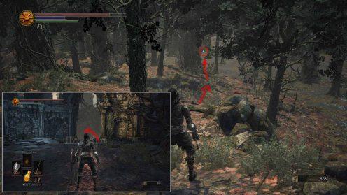 Где найти Травяной щит Dark Souls 3