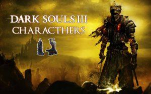 Персонажи игры Dark Souls III.