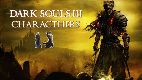 Dark souls 3 npc местонахождение персонажей