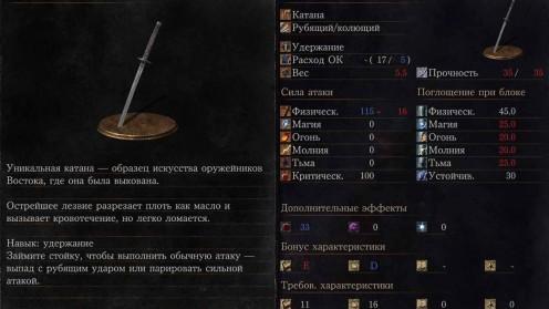 Утигатана месторасположение в Dark Souls 3