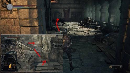 Где найти первый осколок эстуса в Dark Souls 3