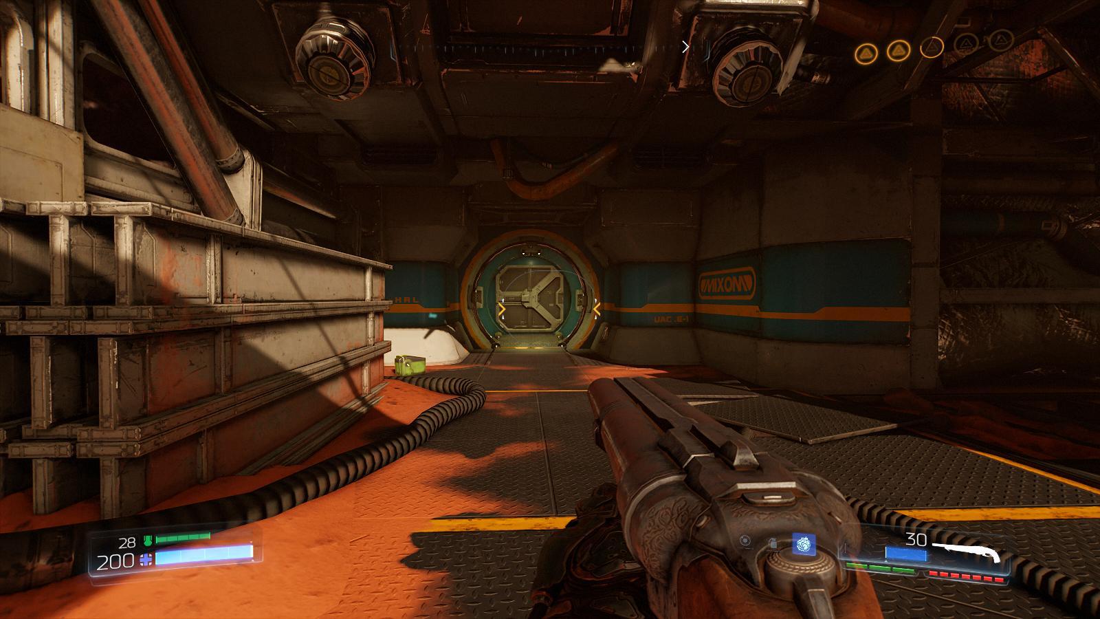 Doom 4 дверь уровень