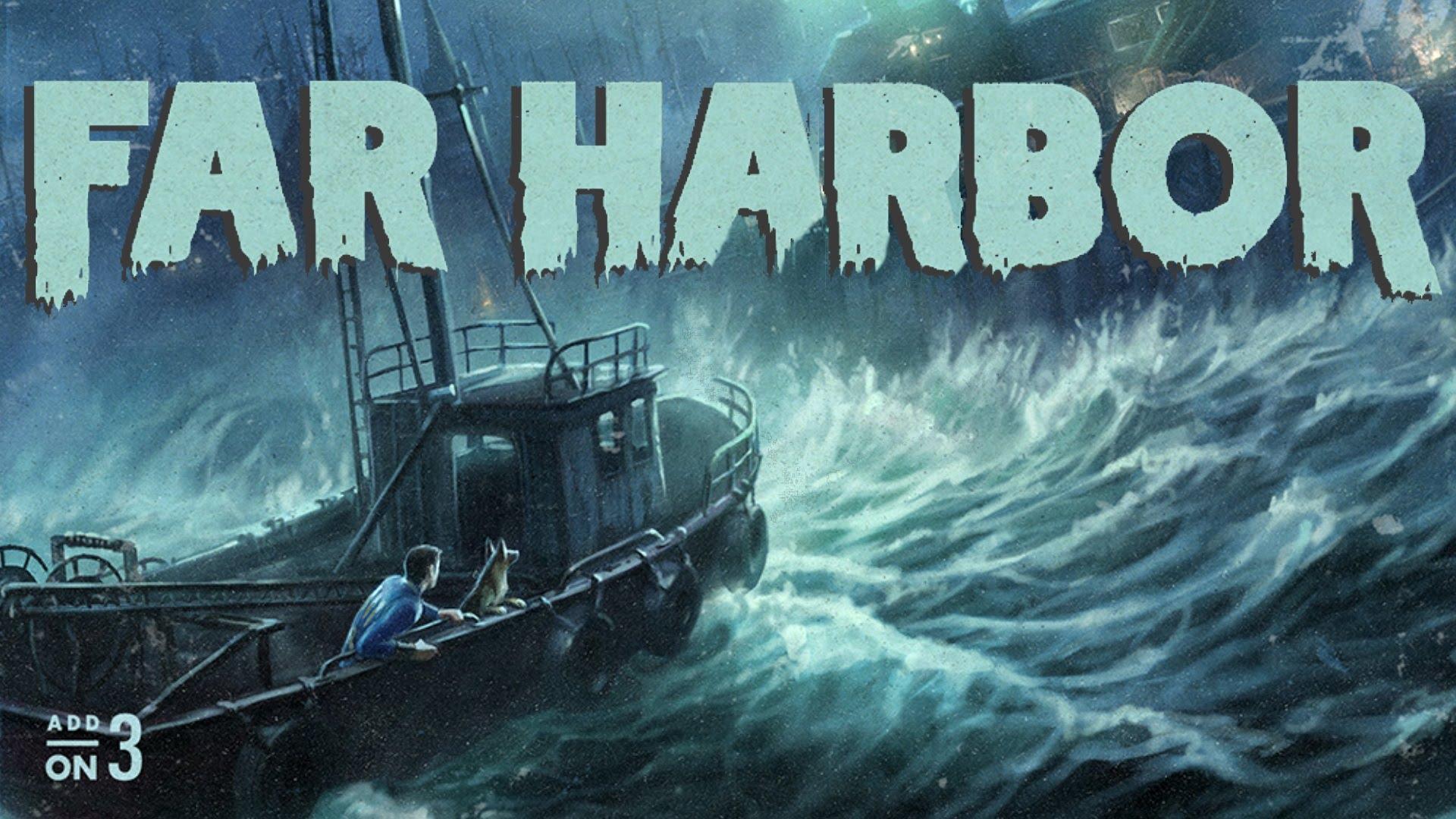 Fallout 4 far harbor id предметов