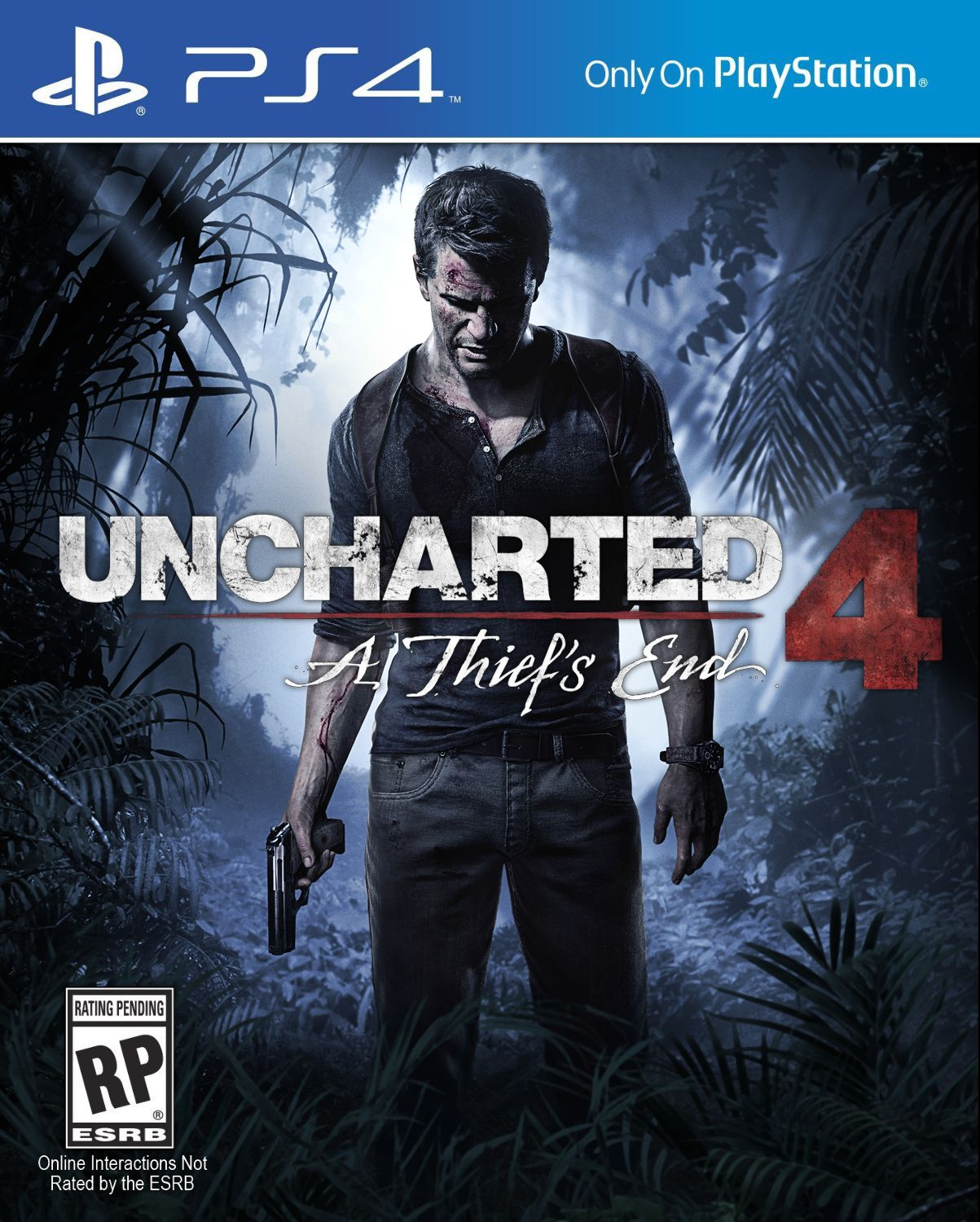 Uncharted 4 cover box art guide