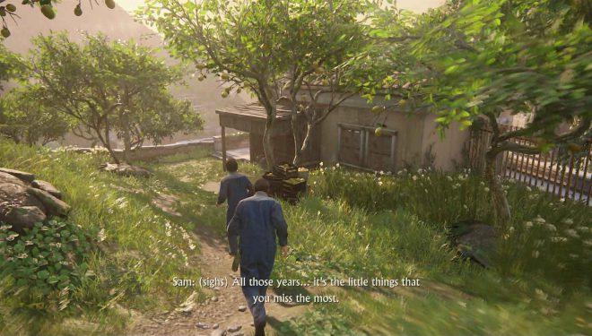 Необязательные разговоры Uncharted 4