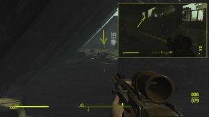 Поднявшись наверх, зачистите комнаты от гулей, на чердаке вы найдете сундук с уникальным оружием.