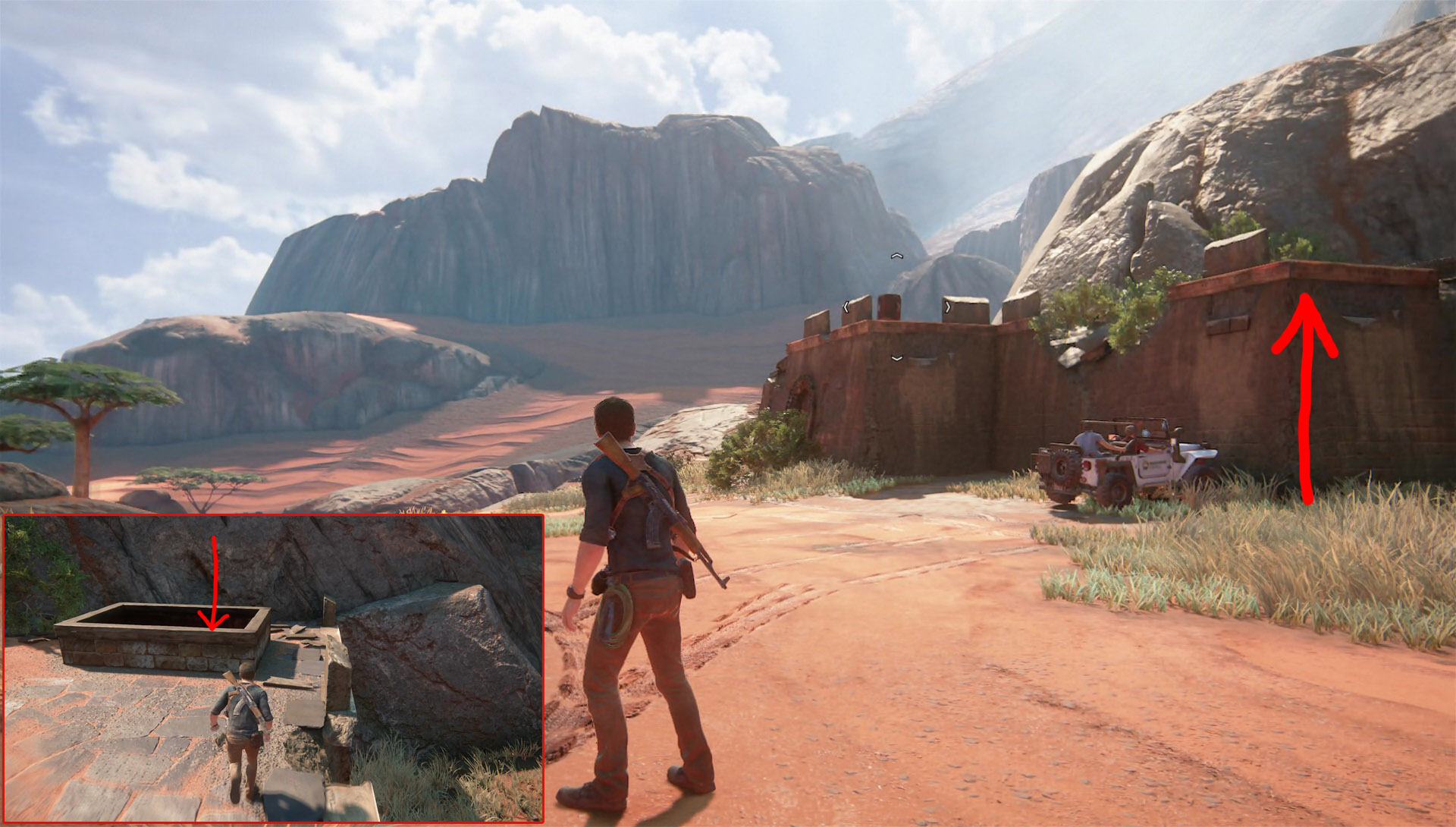 Сколько глав игре uncharted
