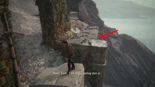 Глава 8 уровень с колоннами найти сокровища Uncharted 4
