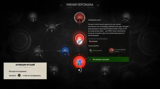 Ведьмак 3 мутации фехтования
