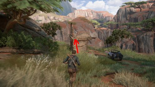 Сокровища в Главе 10 Uncharted 4 местонахождение карта