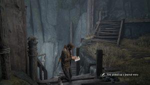 поиск записей в дневник Uncharted 4 глава 8
