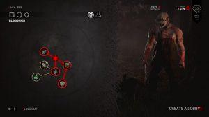 Bloodweb - паутина при помощи которой вы прокачиваете уровень персонажа.