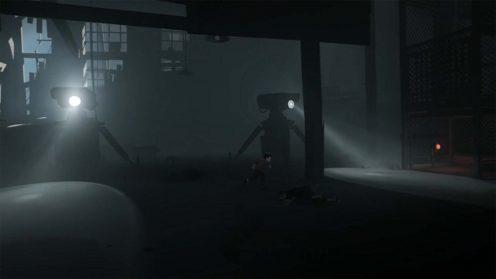 Прохождение Inside Лифт и роботы