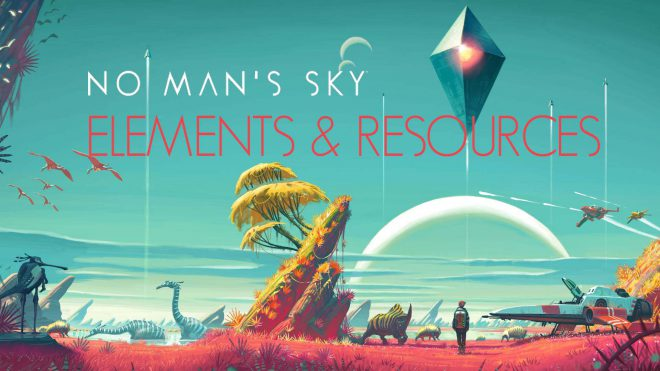 No Man's Sky Элементы и ресурсы
