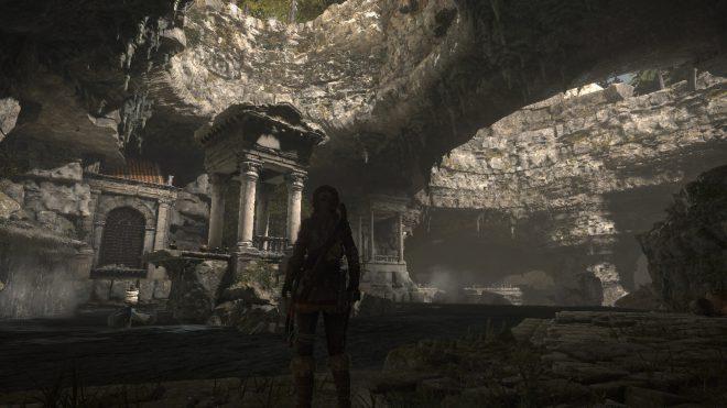 Rise of the Tomb Raider как пройти гробницу Катакомбы священных вод