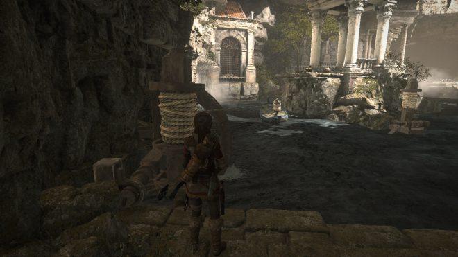 Rise of the Tomb Raider прохождение горбницы Катакомбы священных вод