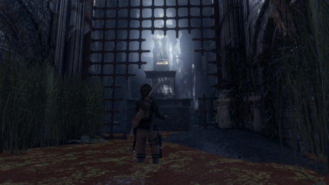 Rise of the Tomb Raider как пройти гробницу Китежские бани