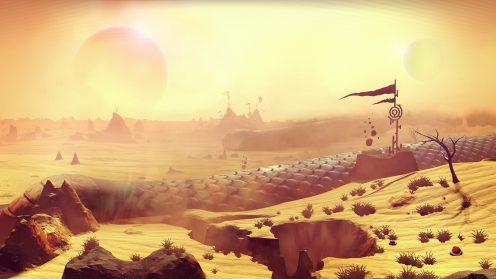 Пустынная планета в No Man' Sky гайд