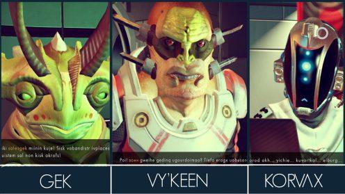 Расы в No Man's Sky гайд диалоги пришельцев