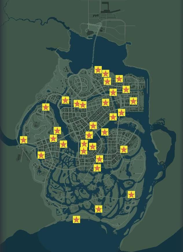Мафия 3 Коммунистическая пропаганда карта