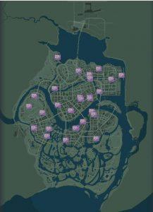 Карта с Картинами Варгаса в Mafia 3