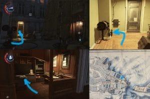 dishonored 2 все чертежи большой дворец