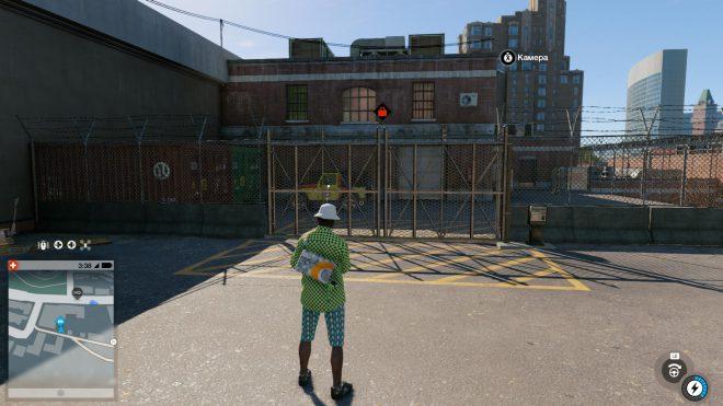 Закрытые ворота как взять машину в Watch Dogs 2