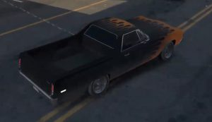 Muscle car Watch Dogs 2