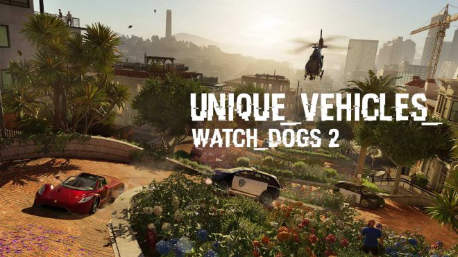 Поиск автомобилей в watch dogs 2