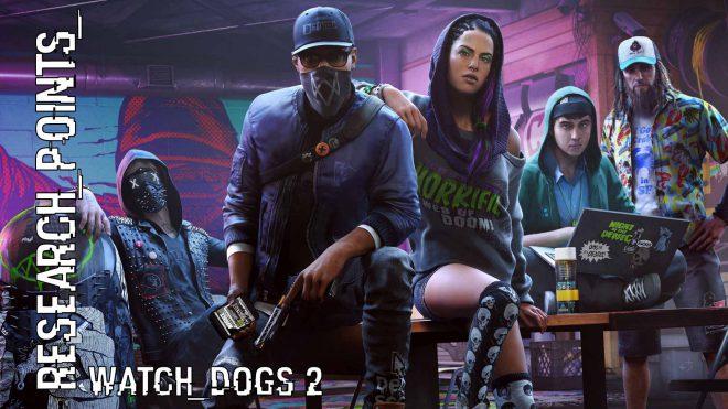 Гайд по местонахождению Очков Исследования в Watch Dogs 2 ...