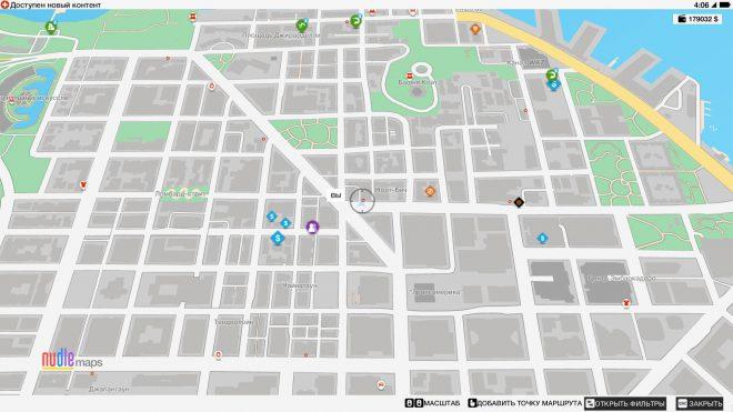 Watch Dogs 2 карта с местонахождением миссии Тени